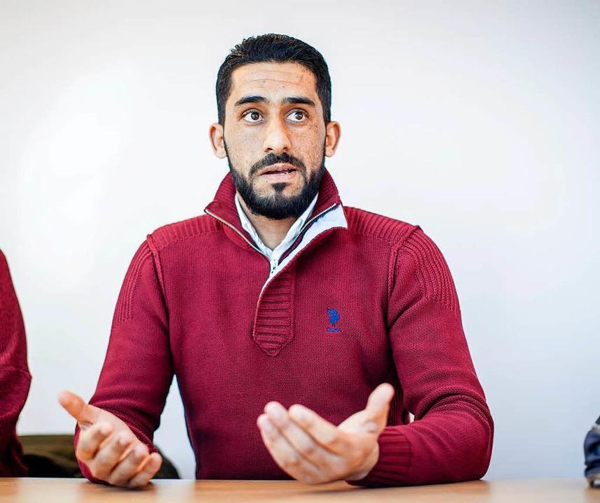 Ben Abdallah darf bald als einer der w...legal in die Bundesrepublik einreisen.    Foto: Thomas Imo/photothek.net