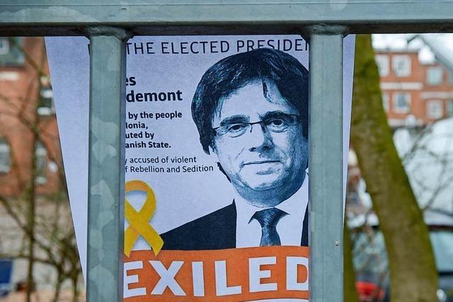 Puigdemont ist ein Fall für die Justiz, nicht für die deutsche Politik