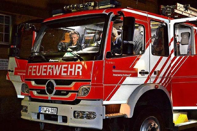 Vier Einsätze der Feuerwehr in zweieinhalb Stunden