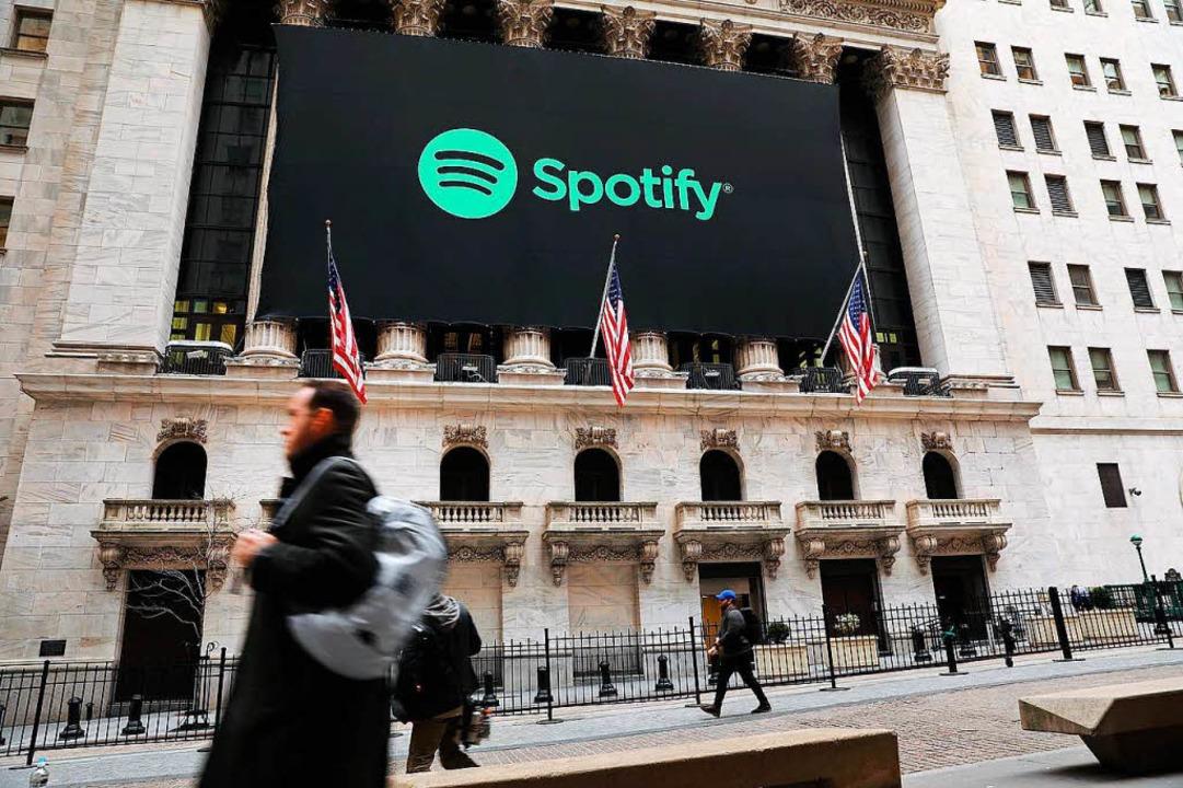Kurze Zeit Schweiz statt Schweden: Bei...nstes Spotify ist ein Fehler passiert.  | Foto: AFP
