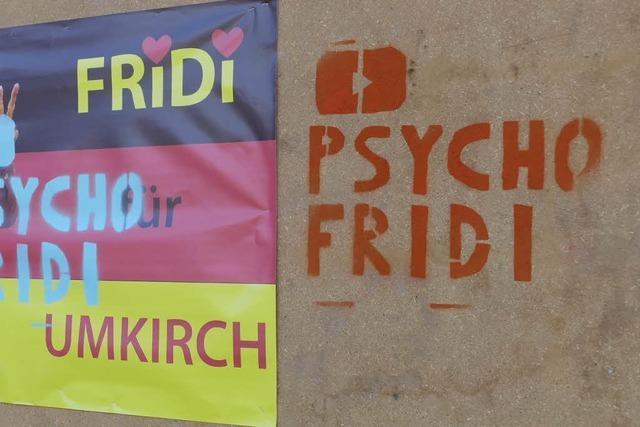 Wahlplakate in Umkirch beschädigt