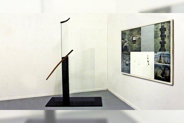 Zwei Künstler in der Retrospektive