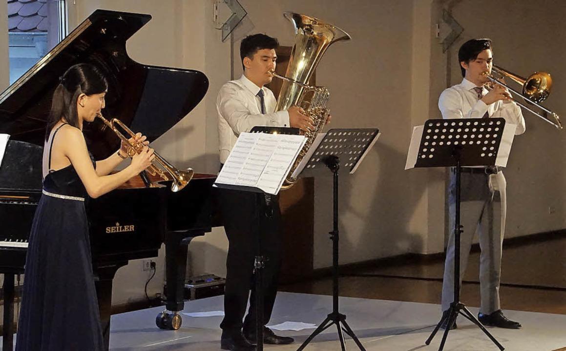Frühlingswind: Musik für schweres Blec... Endinger Bürgerhaus auf dem Programm.  | Foto: Ilona Hüge