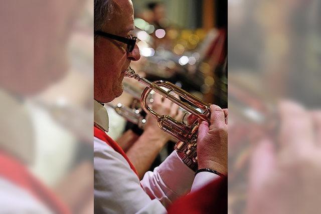 Schwarzwaldkapelle Münstertal verabschiedet Dirigent Denis Laile