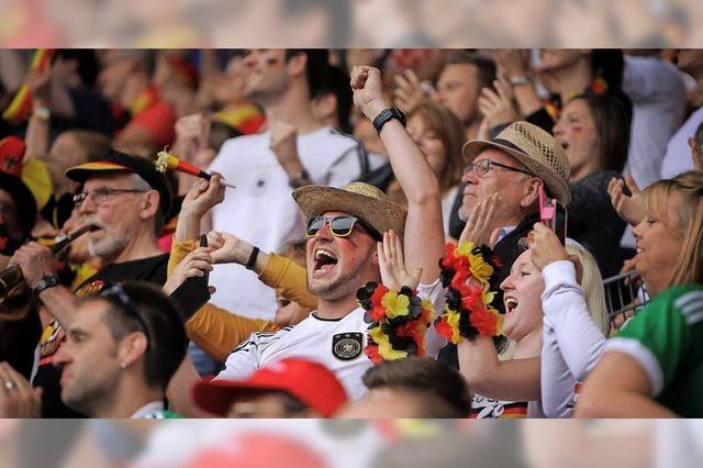 Public Viewing im Schlossgarten zur Fußball-WM
