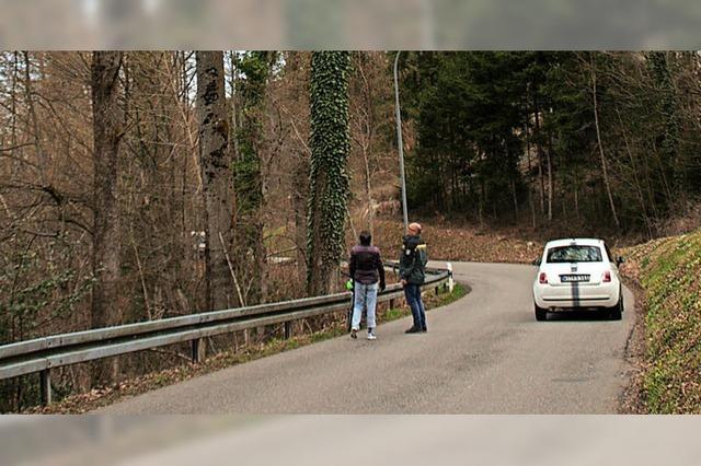 Wohngebiet Hölzle vom Straßenverkehr abgeschnitten