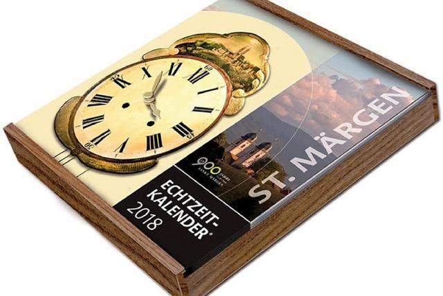 Echtzeitkalender und edle Tropfen
