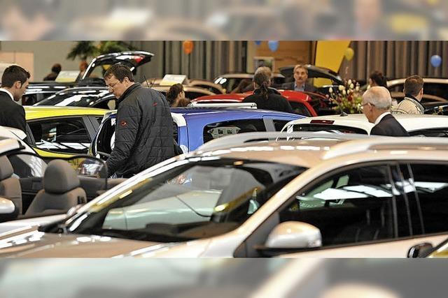 Rund 700 Fahrzeuge im Angebot