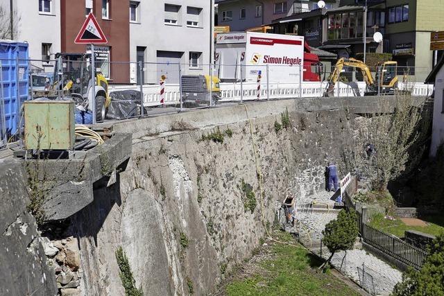 Kur für 205-jährige Mauer