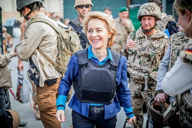 Die Verteidigungsministerin braucht einen Neustart