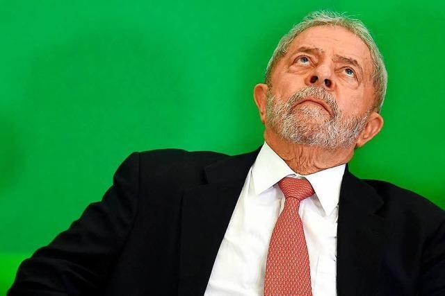 Brasiliens Justiz gibt grünes Licht für Inhaftierung Lulas