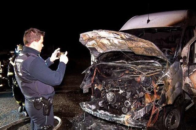 Drei Autos brennen in der Ortenau – in einer Nacht