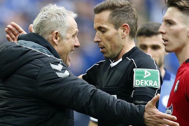 DFB ermittelt nach Wutausbruch gegen SC-Trainer Streich