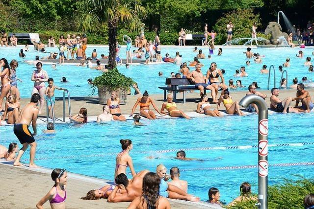 Das Strandbad startet am Freitag spontan in die Freibadsaison