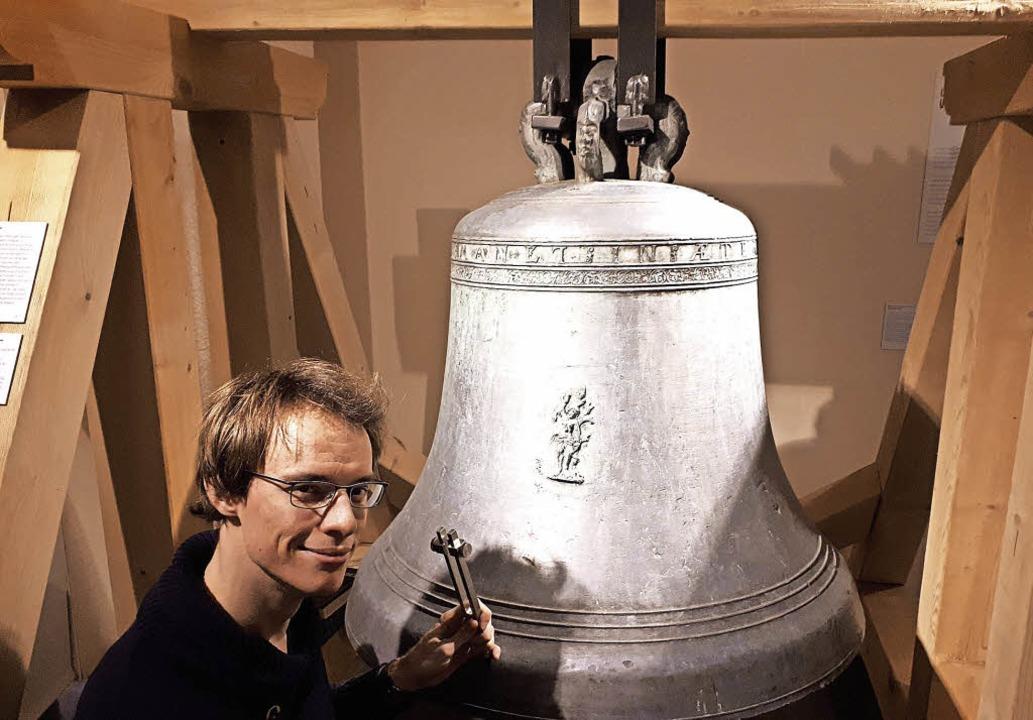Glocken-Sachverständiger Johannes Lang... Renaissance aus dem Markgräflerland.   | Foto: Dreiländermuseum