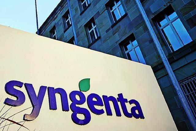 Syngenta rutscht 2017 in die roten Zahlen