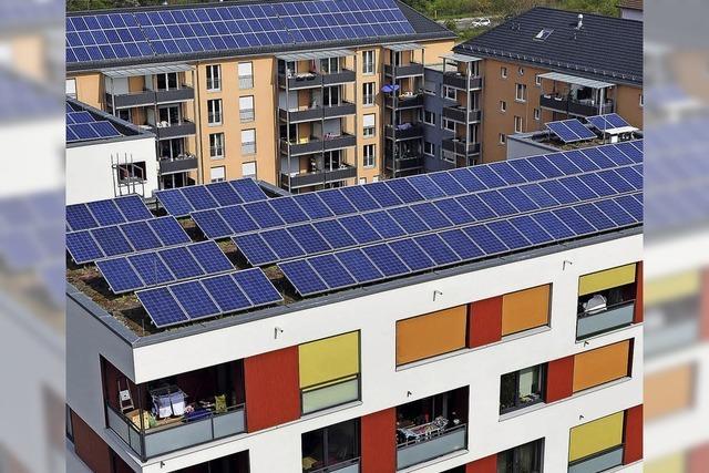 In Freiburg gibt es einige Pilotprojeke bei Photovoltaikanlagen