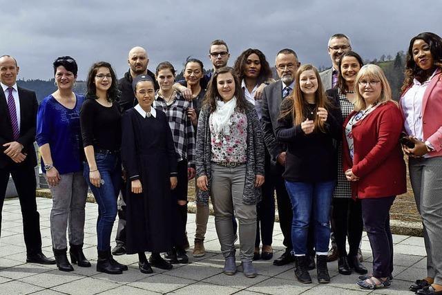Schule in der BDH-Klinik entließ neue Absolventen
