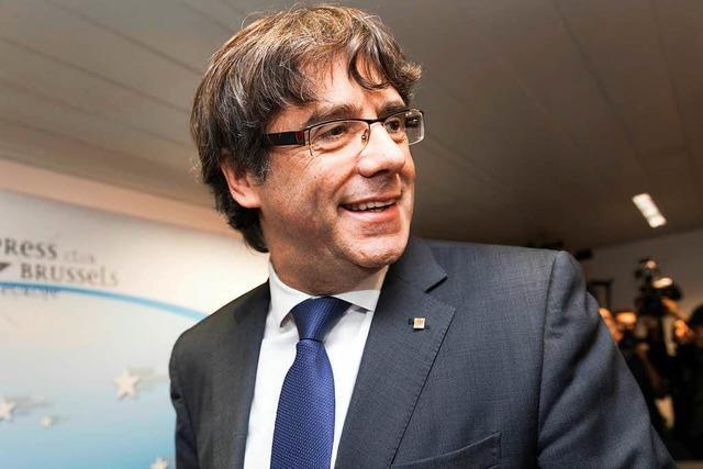 Kataloniens Ex-Regionalpräsident Puigdemont kommt unter Auflagen frei