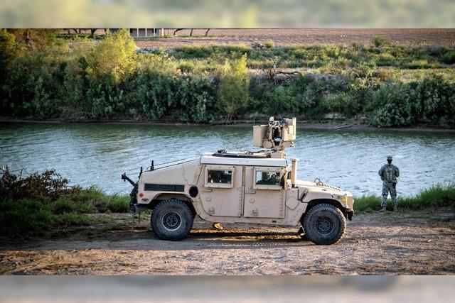 Trump schickt Nationalgarde an die Grenze