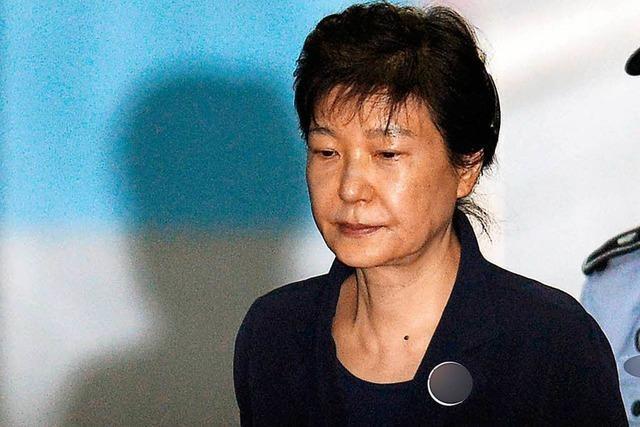 Gericht in Südkorea verurteilt Ex-Präsidentin Park zu 24 Jahren Haft