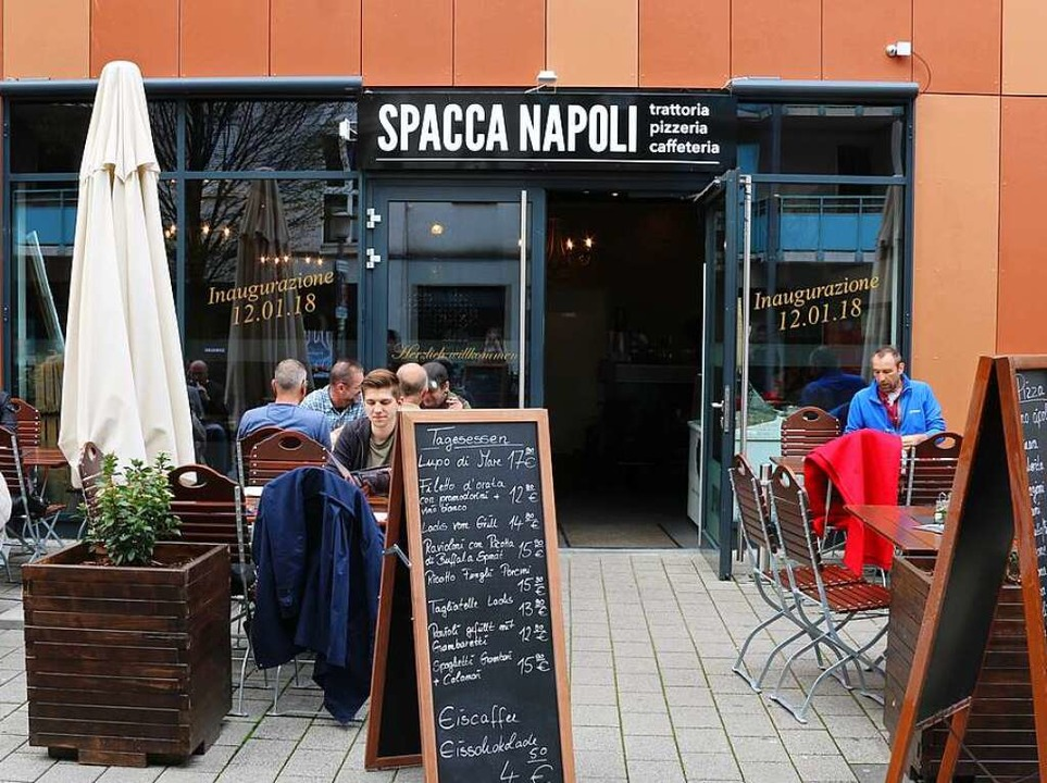 Das Spacca Napoli in den Westarkaden.  | Foto: Maleen Thiele