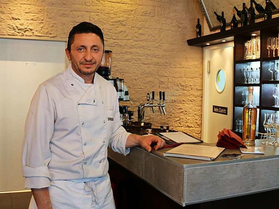 Enzo Pragliola, Koch des Spacca Napoli.  | Foto: Maleen Thiele