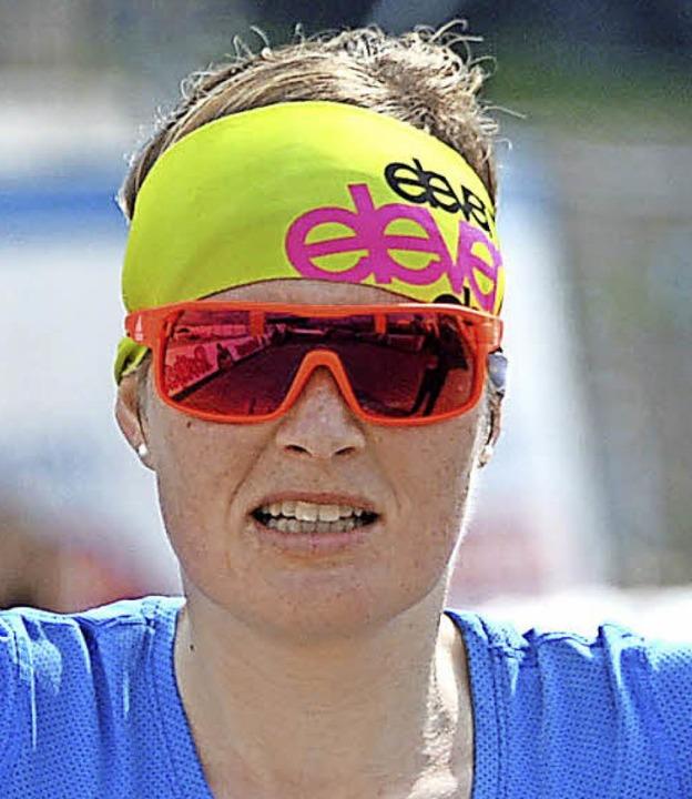 Marathon-Siegerin Stefanie Doll  | Foto: Patrick Seeger
