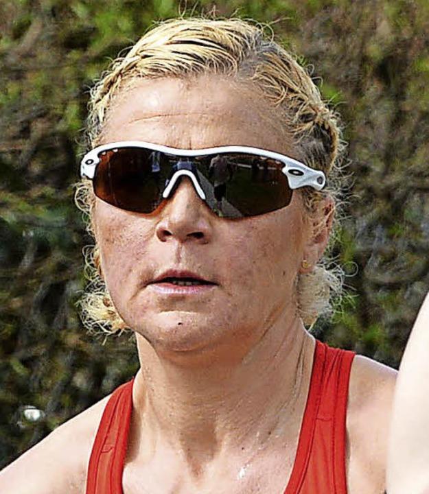 Halbmarathon-Siegerin Veronica Clio Hähnle-Pohl  | Foto: Patrick Seeger