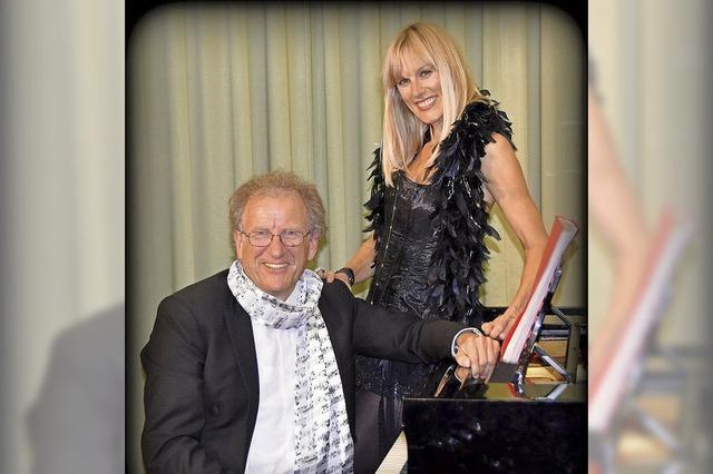 Christine Schmid und Florian Metz mit