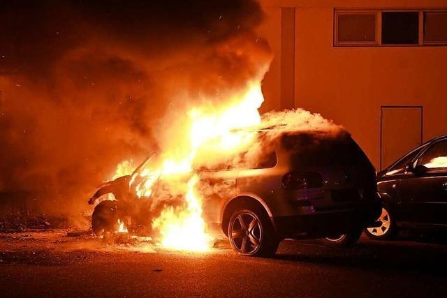 Brandserie in der Ortenau hält an: 30 Autos brannten seit September