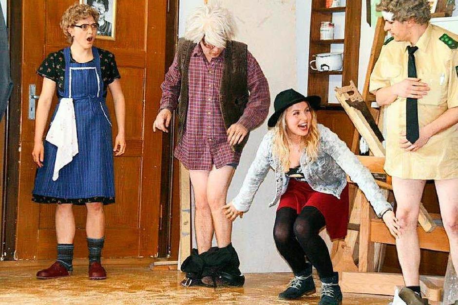 """""""Die unglaubliche Geschichte vom gestohlenen Stinkkäs"""", Aufführung in Rotzingen"""