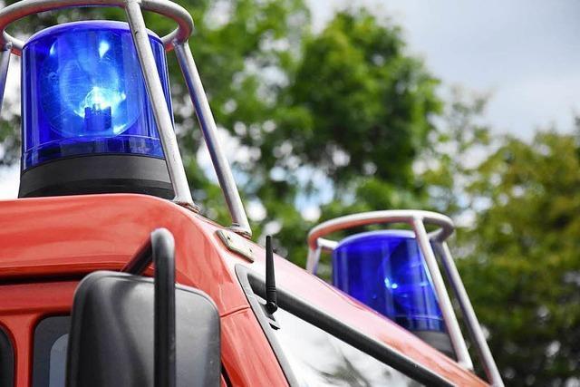 Zimmerbrand in Herbolzheim von Feuerwehr schnell gelöscht