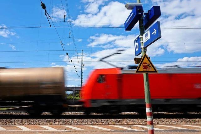Großer Bahnhof für den neuen Lahrer Bahnhof