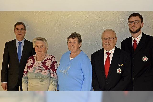 Sechs Jahrzehnte im Dienst des Roten Kreuzes