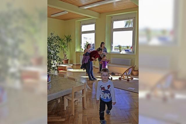 Aus Schule wird ein Kindergarten