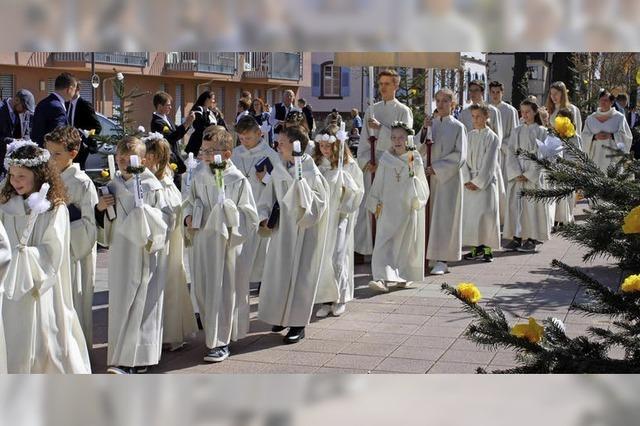 Weißer Sonntag in Ringsheim