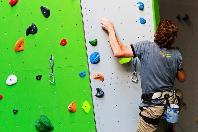 Die DAV-Kletterhalle in Freiburg ist beliebt – und umstritten
