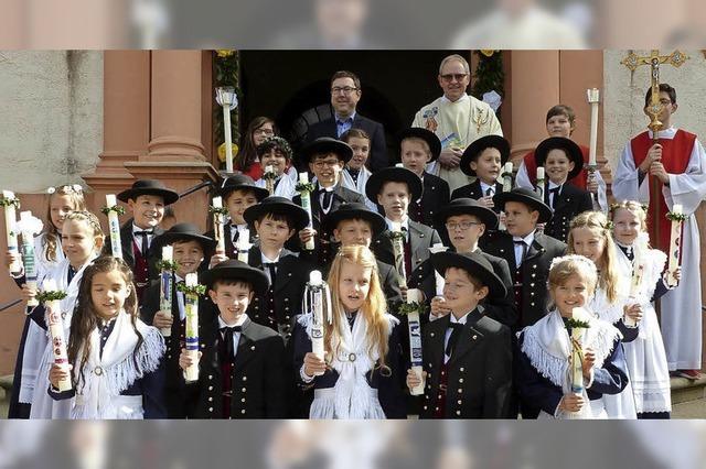 Erstkommunion in Münstertäler Tracht