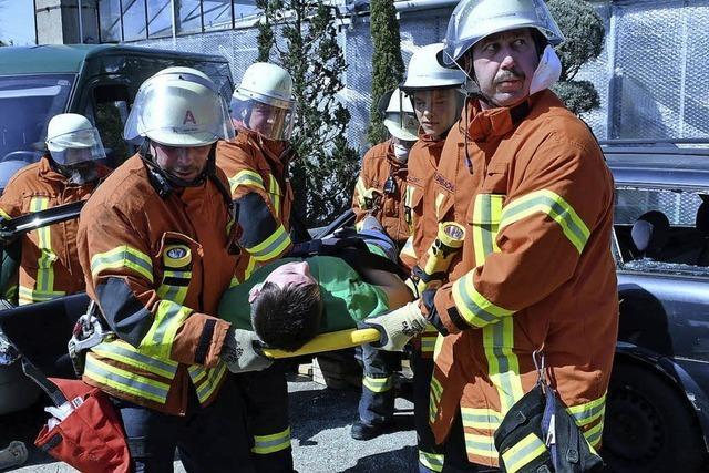 Was zu tun ist bei Kellerbrand und Unfall