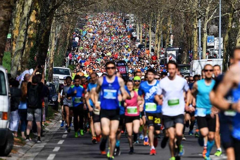 15. Freiburg-Marathon am 8. April 2018 (Foto: Patrick Seeger)