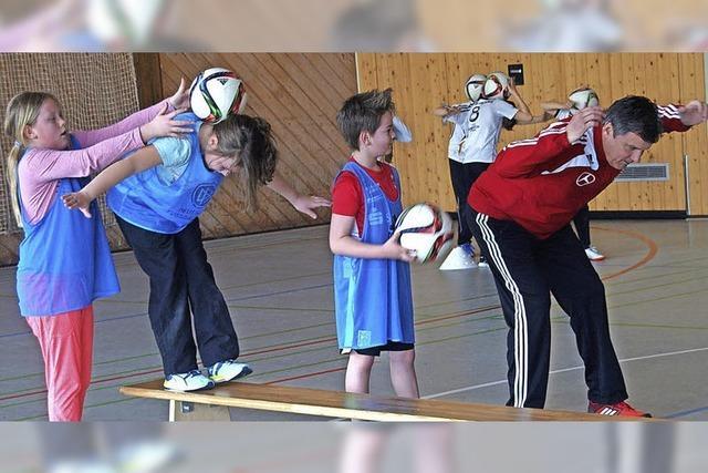 Spielerische Annäherung an den Ballsport