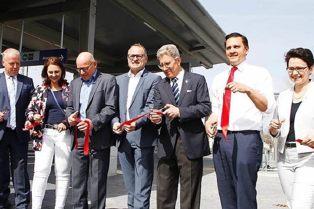 Der neue barrierefreie Bahnhof in Lahr ist eröffnet