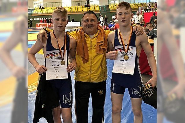 Drei Medaillen für den Lahrer Nachwuchs