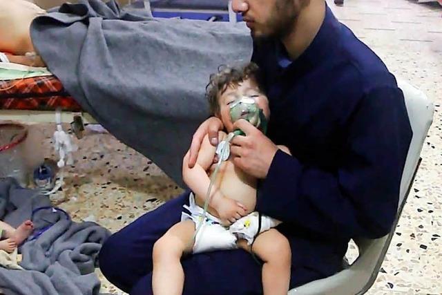 Wieder Angriffe mit Giftgas in Syrien?