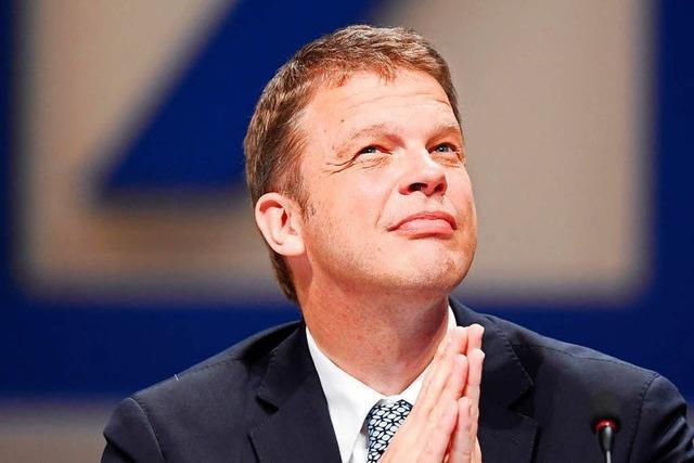 Christian Sewing ist neuer Chef der Deutschen Bank