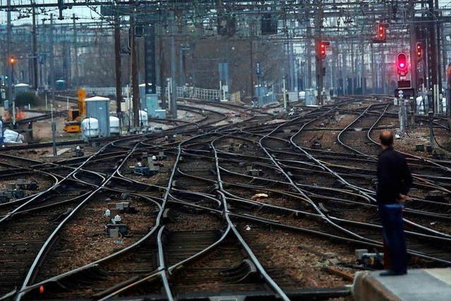 Bahnstreik in Frankreich wirkt sich auf Südwesten aus