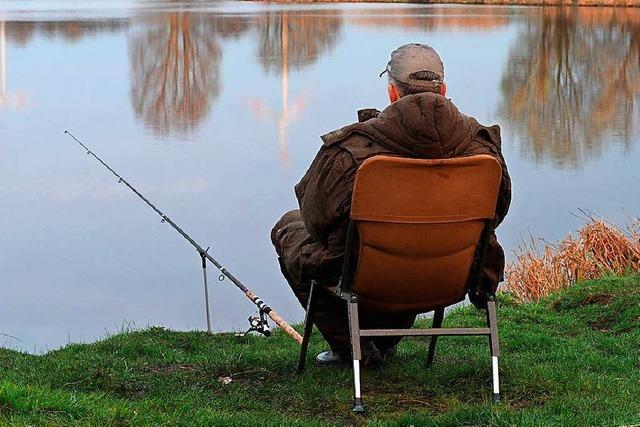 Mann angelt im Lörracher Grüttsee – ohne Fischereischein