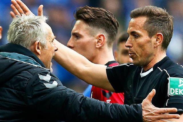Ausraster auf Schalke: Streich muss 15.000 Euro Strafe zahlen