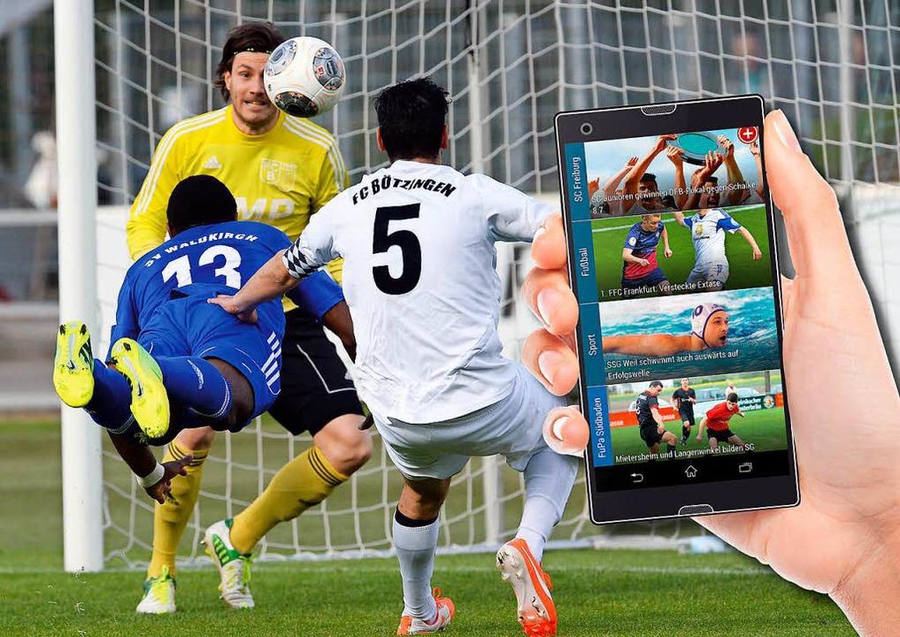 BZ Smart bietet auch jede Menge Neuigk...Portals aus dem Amateurfußballbereich.  | Foto: bz